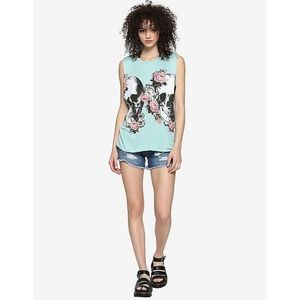 [Hot Topic] Skull Muscle Tank, 3X